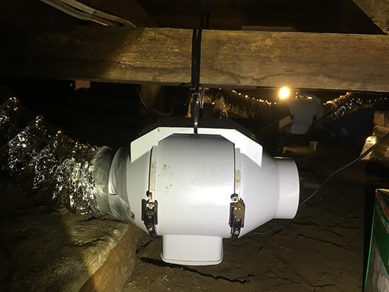 subfloor ventilation solution lilyfield