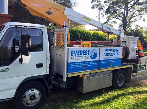 Elevated Work Platform Truck