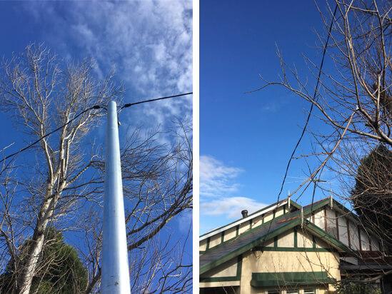 private power pole installation artarmon