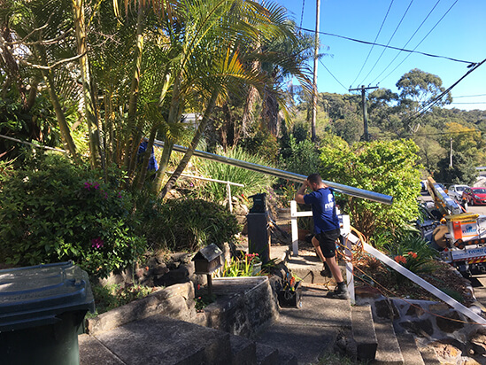 private power pole installation narrabeen