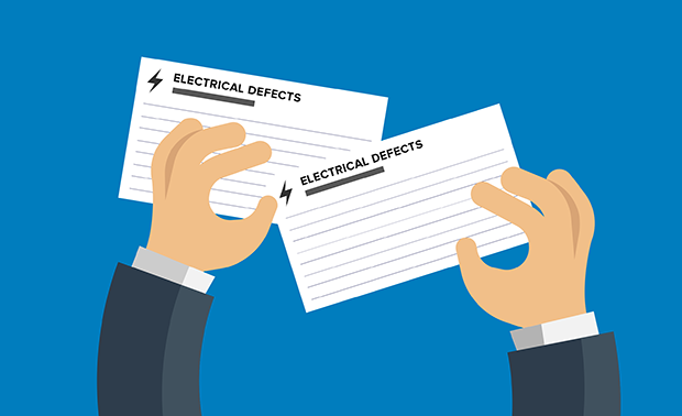 Electrical Defect Notice